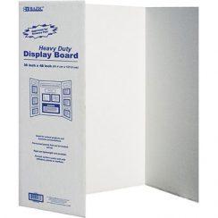 BAZIC Tri-Fold Corrugated Presentation Board