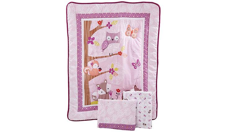 Bedtime Originals Lavender Woods Bedding Set