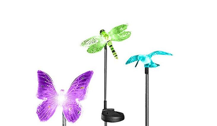 OxyLED OxyFlor GL-01 Solar Powered Outdoor Hummingbird