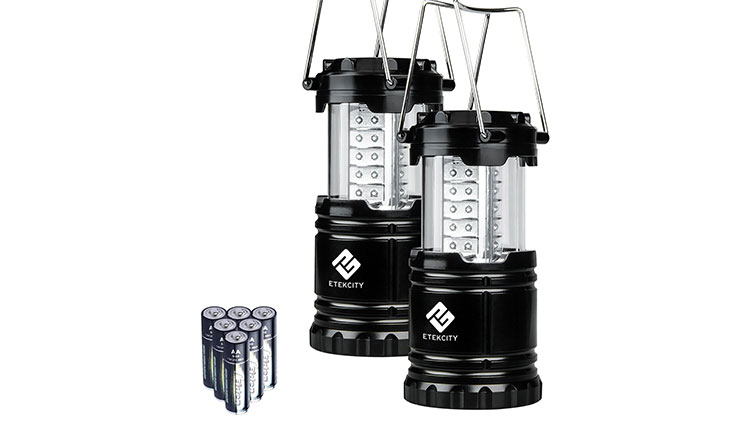 Etekcity 2 Pack Portable Outdoor LED Camping