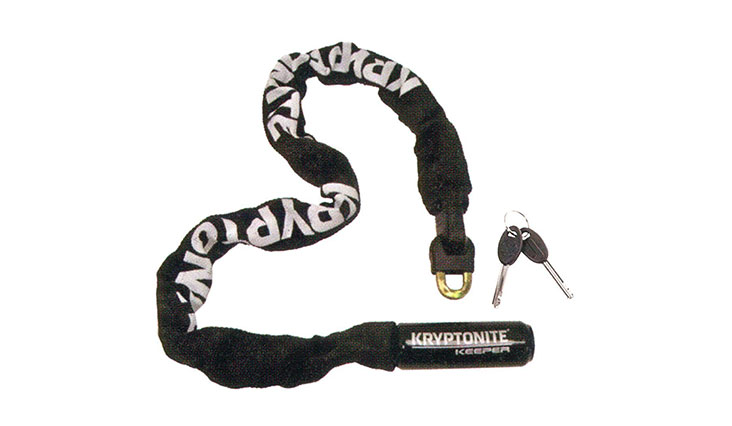 Kryptonite 785 Keeper Integrated Chain Bicycle Lock