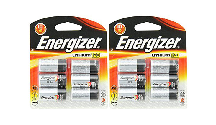 Energizer 123 Lithium MpWrr Battery