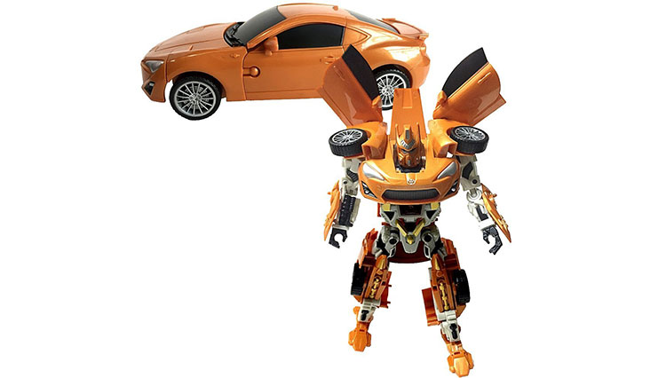 Toyota 86 Transforming Action Robot