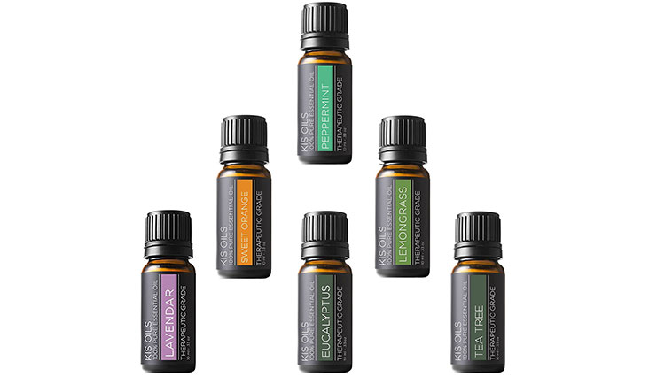 Aromatherapy Top 6 100% Pure Therapeutic Grade Basic Sampler Essential Oil