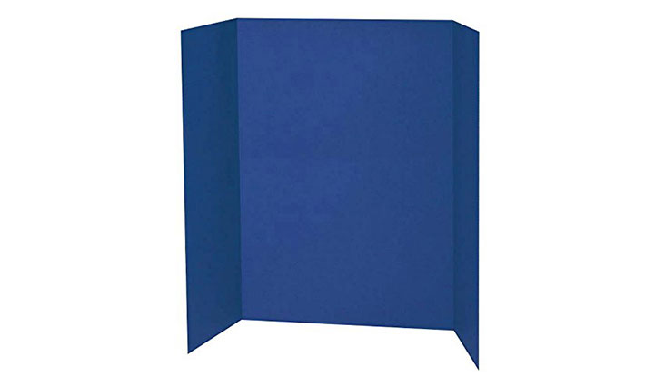 Spotlight 1 Ply Trifold Display Board