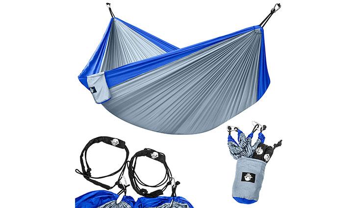Legit Camping, Blue & Grey
