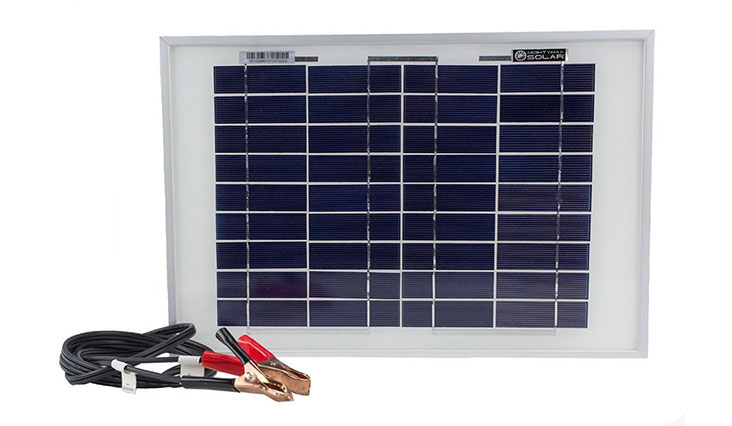 10 Watt Polycrystalline Solar Panel Charger for Deep Cycle Battery