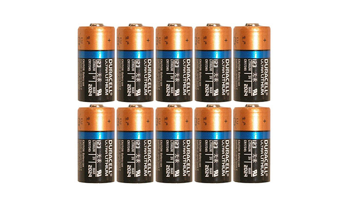 Duracell Dl123 Ultra Lithium Photo
