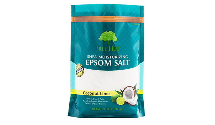 Tree Hut Shea Moisturizing Epsom Salt, Coconut Lime, 3 lb