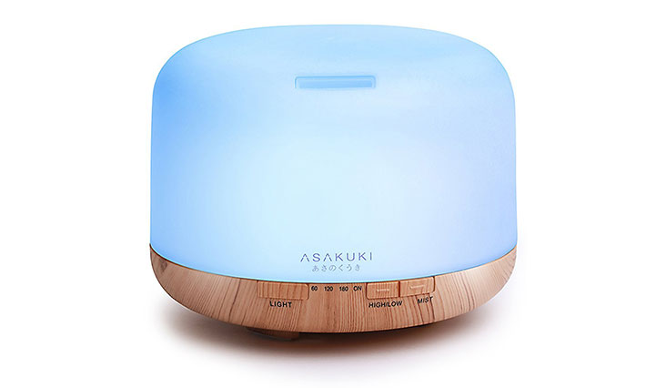 2017 ASAKUKI 500ml Essential Oil Diffuser