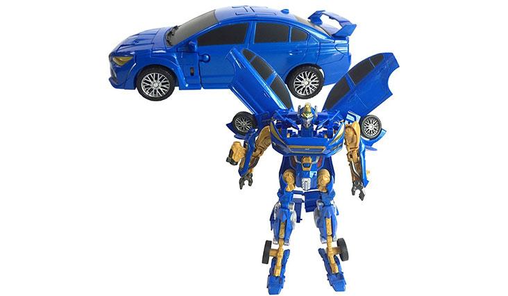 Subaru WRX STi Transforming Action Robot