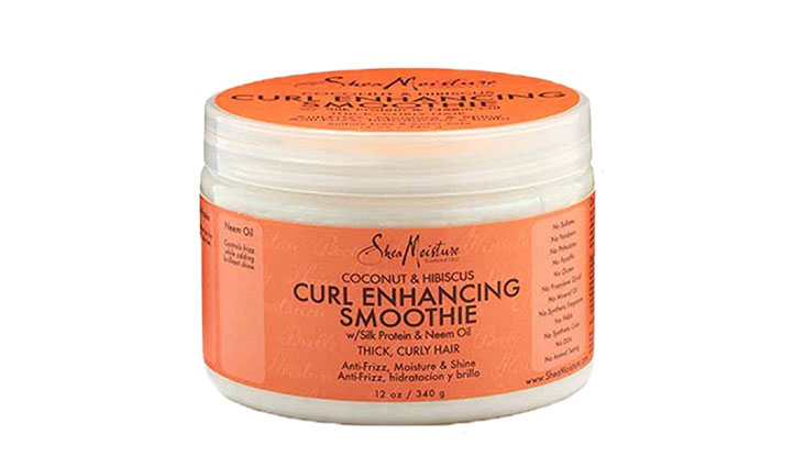 Shea Moisture Coconut and Hibiscus Curl Enhancing Smoothie, 12 oz