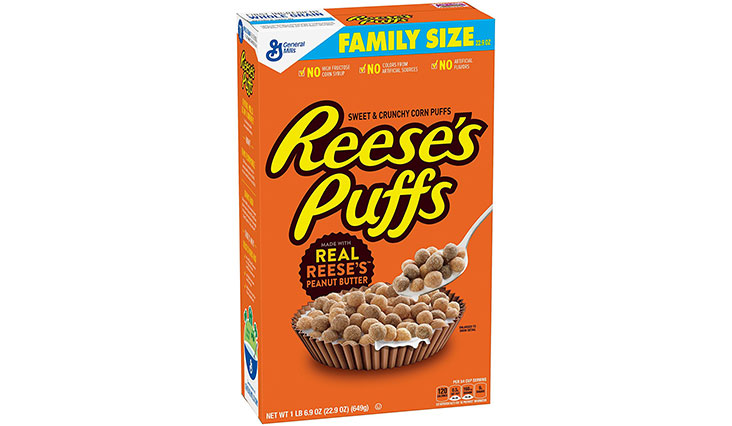 Reeses Puffs Breakfast Cereal, Peanut Butter
