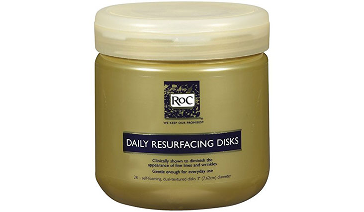 Roc Daily Resurfacing Disks, Skin-Conditioning Cleanser