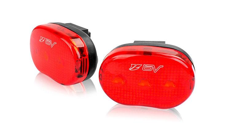 BV Bike Rear / Safety Light 2-Pack