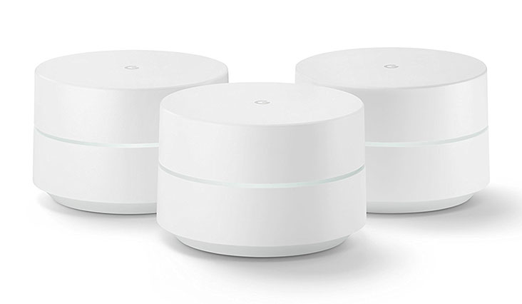 Google Wifi system (set of 3) - Router replacement for whole home coverage