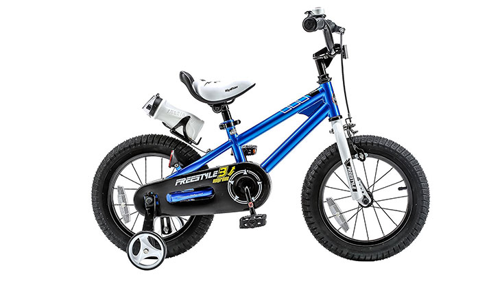 RoyalBaby BMX Freestyle Kids Bike, Boy's Bikes and Girl's Bikes with training wheels, 12 inch, 14 inch, 16 inch, 18 inch, Gifts for children