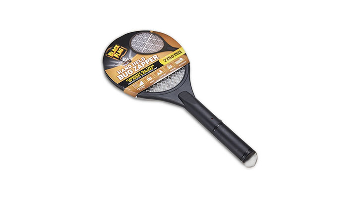 Black Flad Handheld Bug Zapper