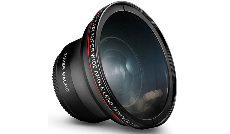 52MM 0.43x Altura Photo Professional HD Wide Angle Lens (w/ Macro Portion) for NIKON D7100 D7000 D5500 D5300 D5200 D5100 D3300 D3200 D3100 D3000 DSLR Cameras