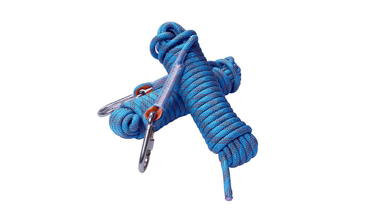 Rock Climbing Rope, 12mm Diameter Outdoor Hiking Accessories High Strength Cord Safety Rope(10m,32ft)(20m,64ft) (30m,94ft)
