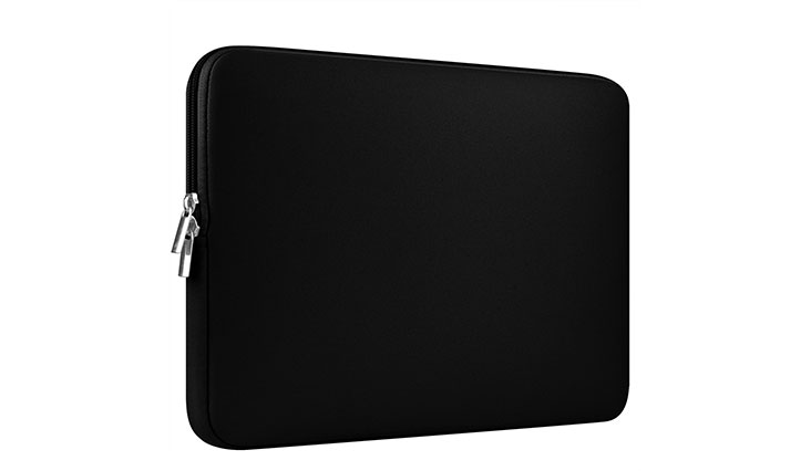 """CCPK 13 Inch Laptop Sleeve 13.3 Inch for Macbook Air / Pro / Retina Display 12.9 Inch iPad Case Bag 13"""" compatible with Apple / Samsung / Sony Notebook, Neoprene, Black"""