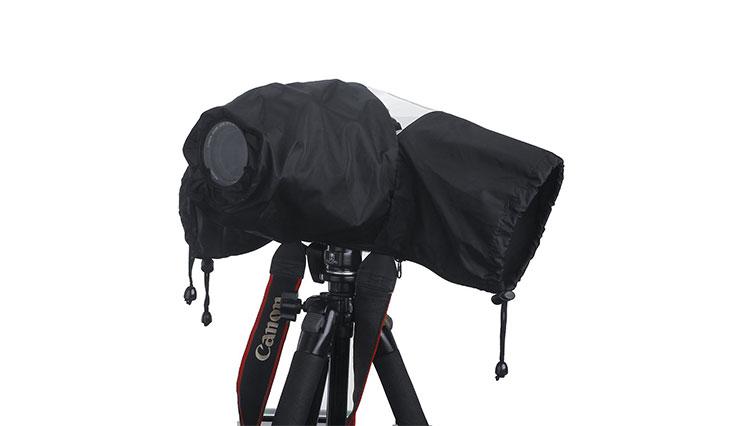 Professional Waterproof DSLR Camera Rain Cover (Japanese Taffeta Material), Great for Rain Dirt Sand Snow Protection