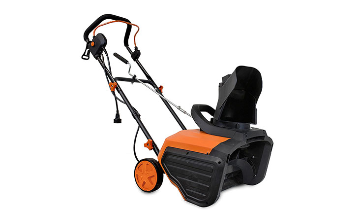 Top 10  Best Electric Snow Blowers for Garden in Review 2018