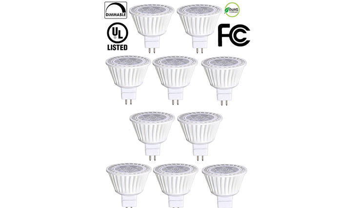 Top 10 Best Quality Halogen Bulbs for Home Use in Review 2018