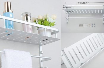 Top 10 Best Bathroom Shelves for Home Improvement in Review