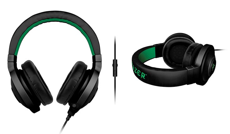 Noise Isolating Analog Black Gaming Headset with Retractable Mic - Compatible with PC, Xbox One & Playstation 4