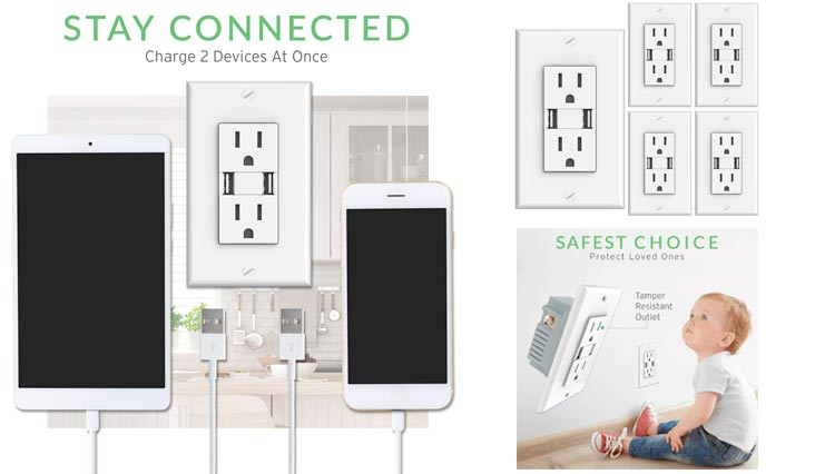 Top 10 Best Electrical Multi-Outlets for Home Use in Review 2018