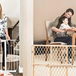 Top 10 Best Indoor Safety Gates to Protect Your Children in Review