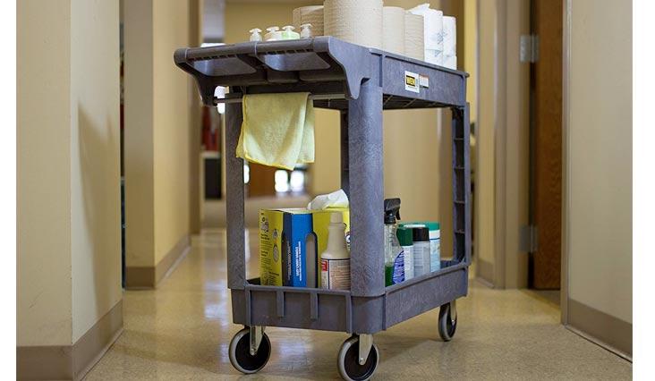 500-Pound Capacity Service Carts