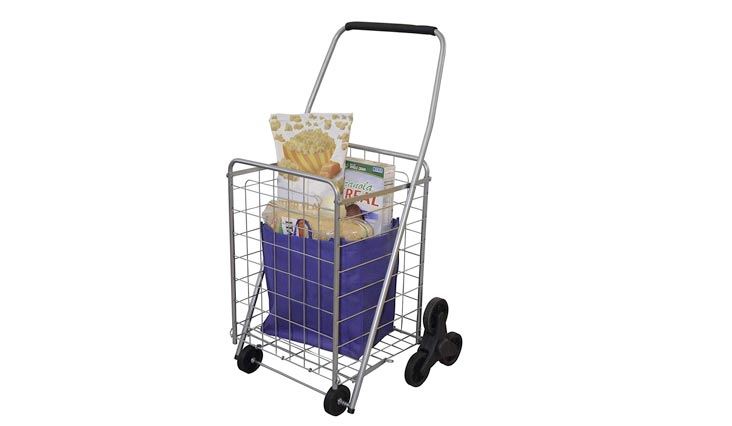 Deluxe Stair Climber Cart | Folding Cart - Great for Shopping, Camping, Sport Events, Much More
