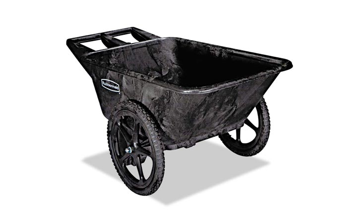 Plastic Yard Cart, 7.5 cu. feet