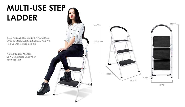 Top 10 Best Step Ladders for Home Use in Review 2018