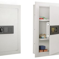 Top 10 Best Wall Safes for Home Use in Review 2018