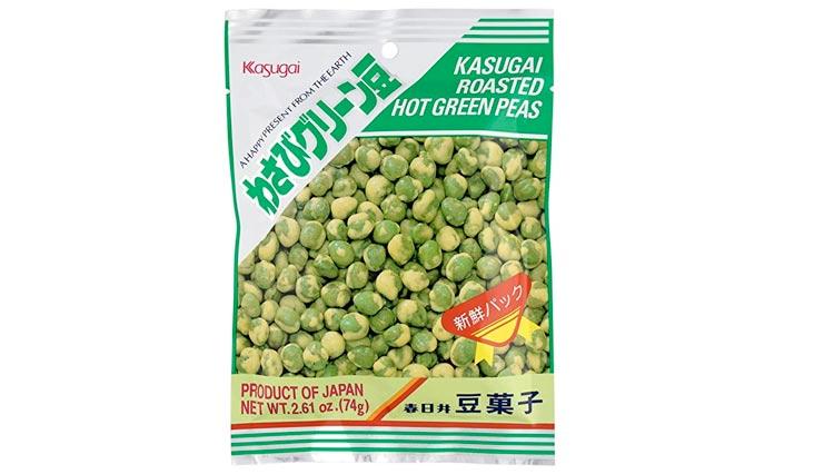 Kasugai Wasabi Green Peas 2.61oz (2 Pack)