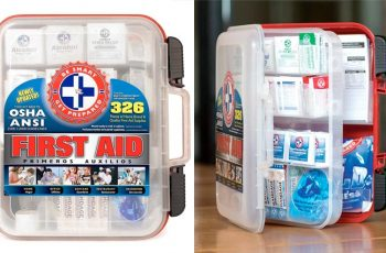 Top 10 Best First Aid Kit for Workspace in Review