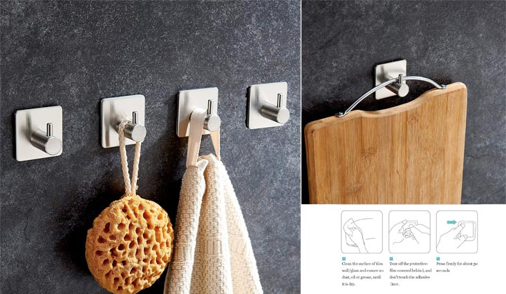 Top 10 Best Quality Towel Hooks for Bathroom in Review 2018 - Fox Review Pro