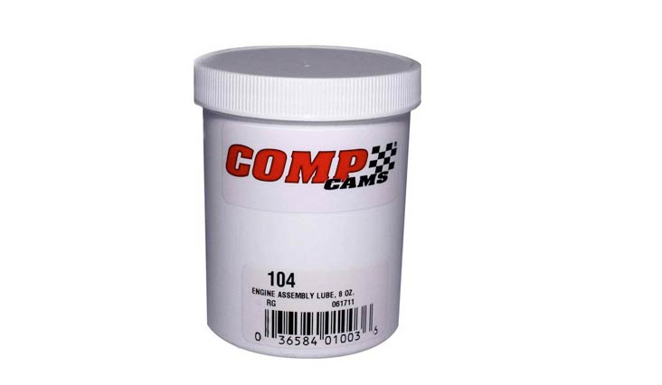 Competition Cams 104 Engine Assembly Lube, 8 oz. Jar
