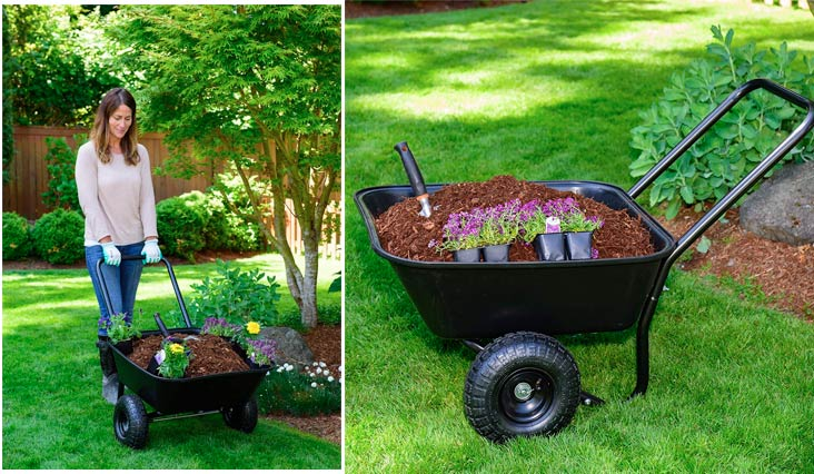 Best Garden Wheelbarrow for Home Use in Review 2018