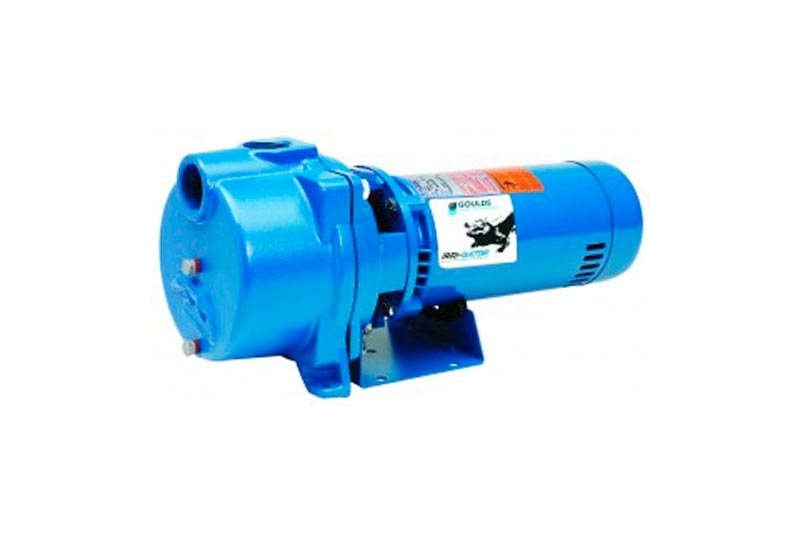 GOULDS PUMPS GT15 IRRI-GATOR Self-Priming Single Phase Centrifugal Pump, 1.5 hp, Blue
