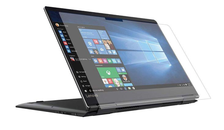 """PcProfessional Screen Protector (Set of 2) for Lenovo Yoga 710 15 15.6"""" Touch Screen Laptop High Clarity Anti Scratch"""
