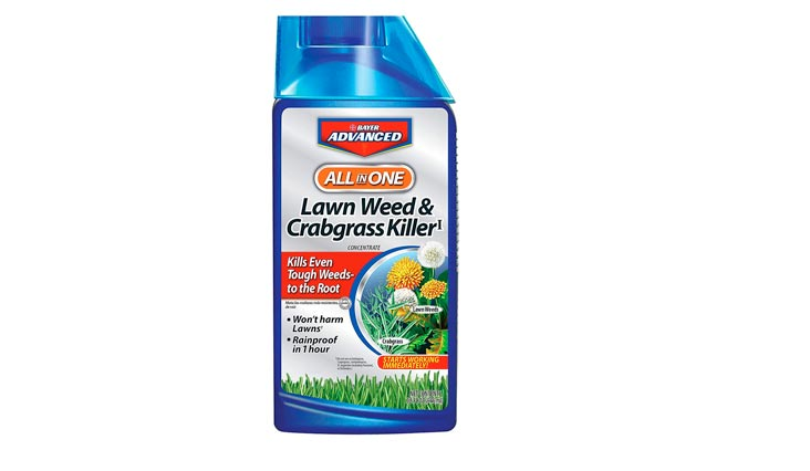Bayer Advanced All-In-One Lawn Weed & Crabgrass I Concentrate Killer, 32 oz