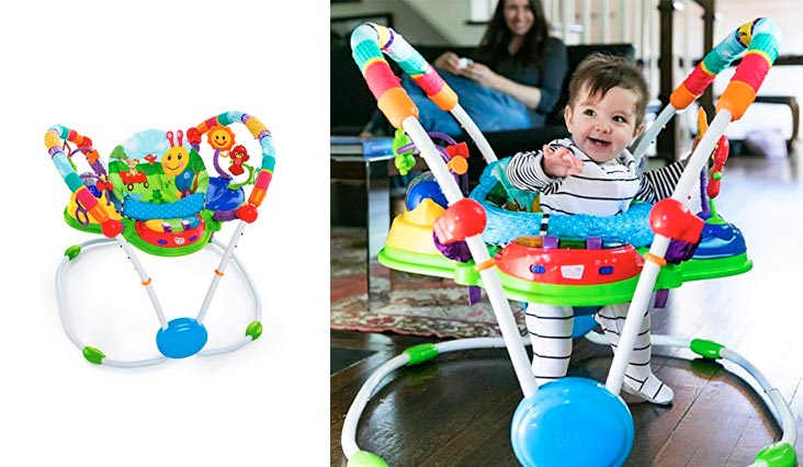 Best Rated Baby Exersaucers to Keep Baby Busy in Review 2018