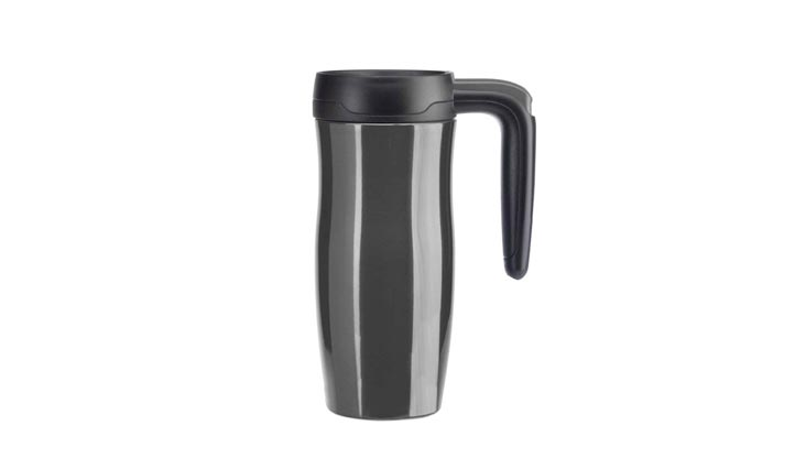 Contigo Autoseal Randolph Stainless Steel Travel Mug Vacuum Insulated, 16-Ounce, Gunmetal