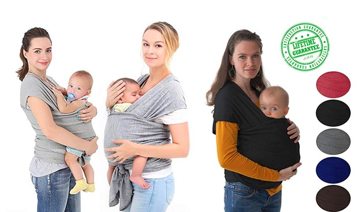 Best Soft Cotton Baby Wraps To Carry Baby in Review 2018
