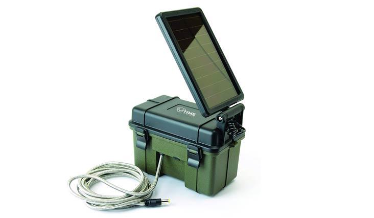 Stealth Cam HME-12VBBSLR Trail Cam Solar Auxiliary Power Pack