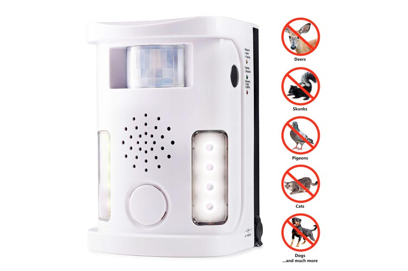 Hoont™ Powerful Electronic Outdoor/Indoor Animal & Pest Repeller - Motion Activated